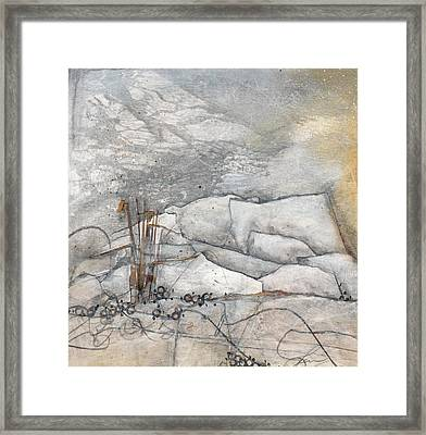 Embrace The White Framed Print by Laura  Lein-Svencner
