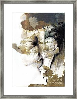 Embryonic IIi With Texture Framed Print