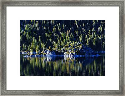 Framed Print featuring the photograph Emerald Bay Teahouse by Sean Sarsfield