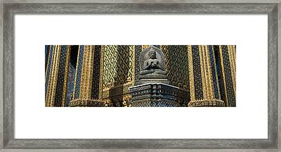 Emerald Buddha, Wat Phra Keo, Bangkok Framed Print by Panoramic Images