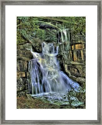 Emerald Cascade Framed Print by Bill Gallagher