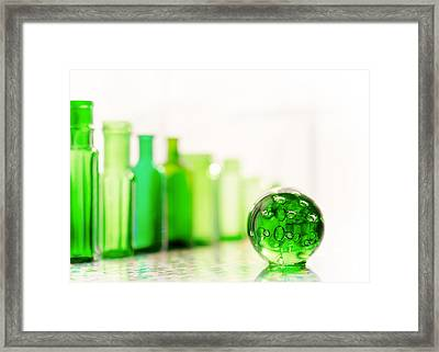 Emerald City II Framed Print by Jon Woodhams