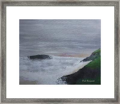 Emerald Isle Framed Print by Dick Bourgault