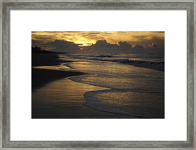 Emerald Isle Sunrise Framed Print