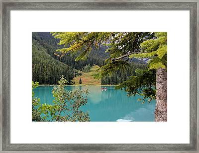 Emerald Lake British Columbia Framed Print by Lynn Bolt