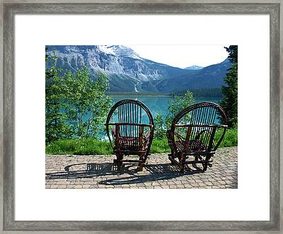 Emerald Lake Framed Print