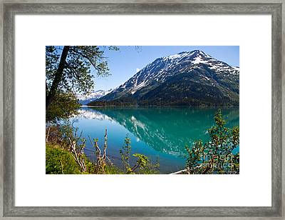 Emerald Reflections  Framed Print by Chris Heitstuman