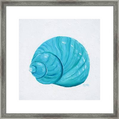 Emerald Shell Framed Print