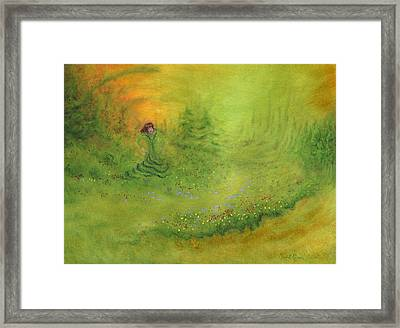 Emerence Framed Print