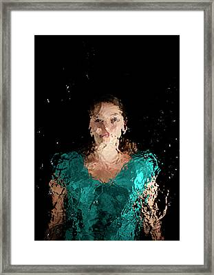 Emerge Framed Print by Mads Perch