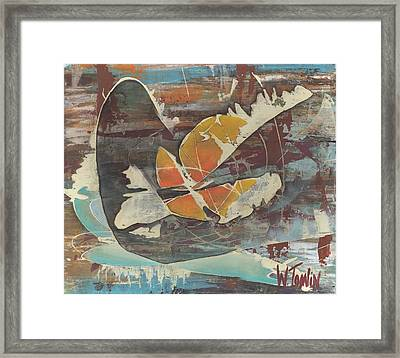 'emerge' Framed Print
