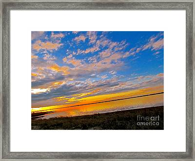 Emergence Framed Print by Q's House of Art ArtandFinePhotography