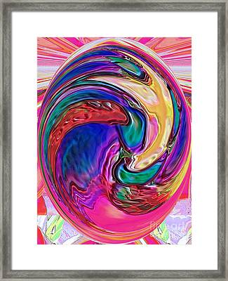 Emergence - Digital Art Framed Print