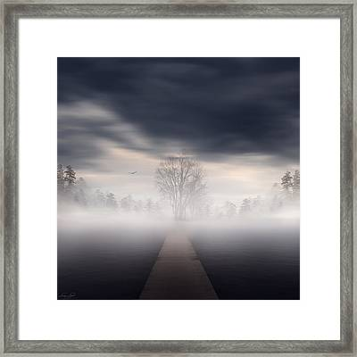 Emergence Framed Print by Lourry Legarde