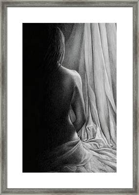 Emergence Framed Print by Pat Erickson