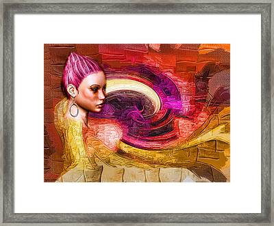 Emergence Framed Print by Tyler Robbins