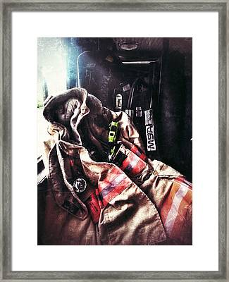 Emergency Standby Framed Print