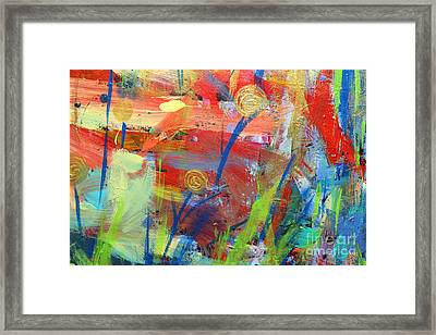Emerging Blooms Framed Print by Stacey Zimmerman
