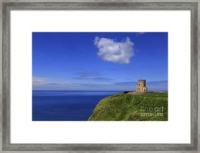 Emerging Castleland Framed Print