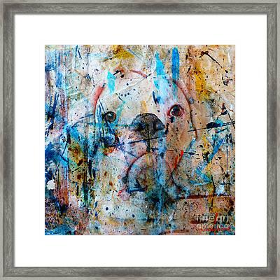 Emerging Framed Print by Judy Wood