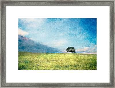 Emerging Spring Framed Print