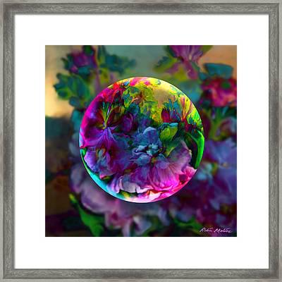 Emerging Spring  Framed Print by Robin Moline