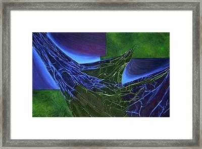 Emersion Framed Print by Corina Bishop