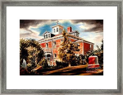 Emerson House Framed Print by Kip DeVore
