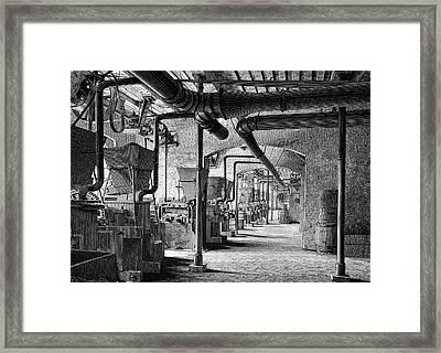 Emery Grinders Framed Print