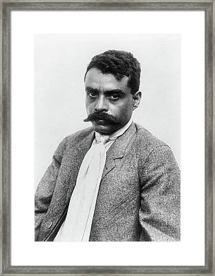 Emiliano Zapata (1879-1919) Framed Print by Granger