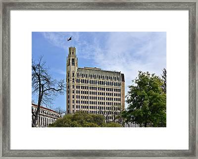 Emily Morgan Hotel San Antonio Framed Print