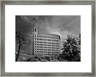 Emily Morgan Hotel San Antonio Tx Framed Print by Christine Till