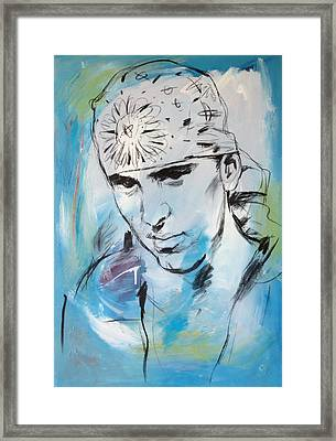 Eminem Art Painting Poster Framed Print