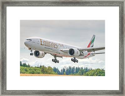 Emirates 777 Framed Print