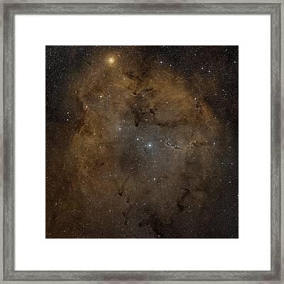 Emission Nebula Ic 1396 Framed Print by Nasa