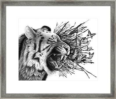 Emit Framed Print by Danielle Trudeau