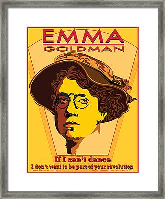 Emma Goldman Framed Print