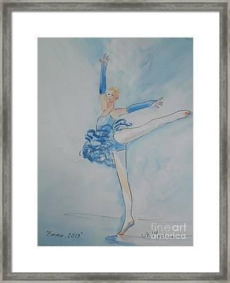 Emma Framed Print by Jill Morris