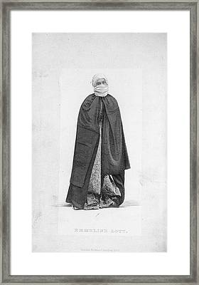 Emmeline Lott Framed Print by British Library