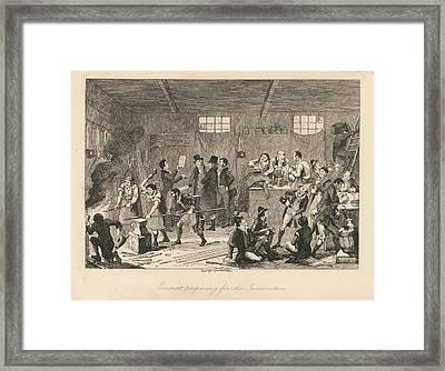 Emmett And The Rebels Framed Print