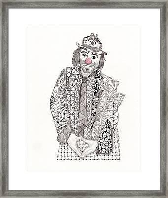Emmett At The Fair Framed Print by Paula Dickerhoff