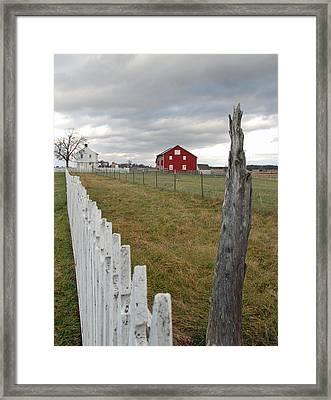 Emmitsburg Rd Framed Print by Jim Cook