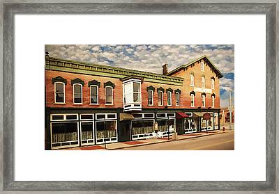Emmitt House At Emmitt Avenue Framed Print