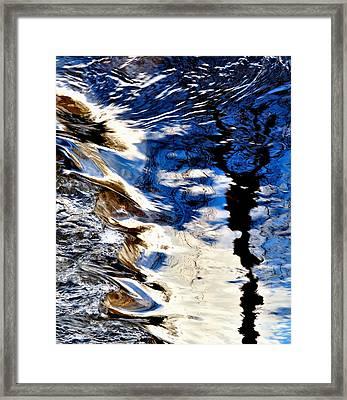 Emotional Hurricane Framed Print by Steven Milner