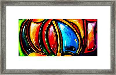 Emotional Touching Framed Print by Marcello Cicchini