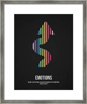 Emotions Framed Print by Aged Pixel