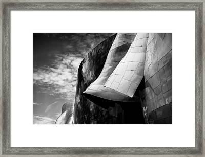 Framed Print featuring the photograph EMP by Brian Bonham