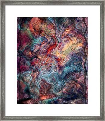 Empathic Psychic Framed Print by Linda Sannuti