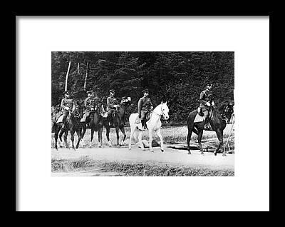 Emperor Of Japan Framed Prints