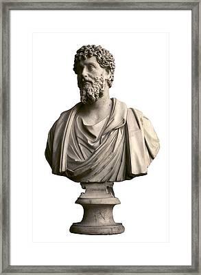 Emperor Lucius Septimius Severus. Ca Framed Print by Everett